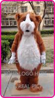 disfraz de cerdo personalizado al por mayor-Mascota de peluche Hamsters traje de mascota personalizado conejillo de indias disfraz de fantasía Cavia porcellus mascotte dibujos animados disfraz