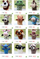 Wholesale puppet talking resale online - Funny hand puppet talking Toys For Baby Children Animal Hand Puppets Plush Toy Glove Design Hand Toys Kid Learning