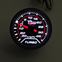 ingrosso turbo boost gauge psi-MANOMETRO DRAGON Calibro 52 mm Boost Turbo 35 Psi Smoke Face meccanico