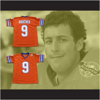 Wholesale Football Dogs - Custom XS-6XL The Waterboy Mud Dogs Football Jersey Bobby Boucher Includes Bourbon Bowl Patch