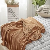 Wholesale crochet cotton blanket resale online - Drop Ship Crocheted Cotton Knitted Blankets for Beds cobertor Pink Sofa Bed Cover Throw Blanket Plaids Bedpread manta para sofa
