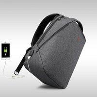 17 bolsas de ordenador portátil para hombres al por mayor-2018 diseño Tigernu marca hombres mochila anti robo de carga USB 14