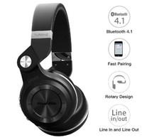 наушники bluedio t2s оптовых-Bluedio Т2С (Bluetooth стерео наушники беспроводные наушники Bluetooth-гарнитура над ухом