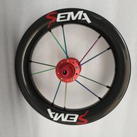 Wholesale front hub bearing - SEMA 12inch 203carbon wheel with carbon hub ceramic bearing 95mm or 84mm or 84mm hub