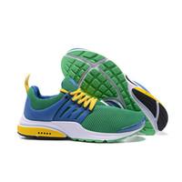 yeni ayakkabılar brazil toptan satış-HOTSALE 2019 Yeni Presto Temel Olimpiyat Brezilya Erkek Koşu Tasarımcı Kadınlar Erkekler için Lüks Spor Ayakkabı Eğitmenler Sneakers