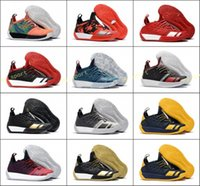 Wholesale patent length - Harden Vol 2 Basketball Shoes Online Store,2018 new tumbled leather,full-length Shoes,Fashion Sports training Sneakers ,Running Sport Shoes