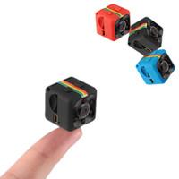 mikro araçlar toptan satış-SQ11 HD 1080 P Araba Ev CMOS Sensörü Gece Görüş Kamera Mikro Kameralar mini Kamera kamera DVR DV Hareket Kaydedici Kamera SQ 11