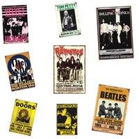 bar filmleri toptan satış-Amoco Filmi Retrol tabela metal plakalar Hediye PUB Duvar sanat Boyama Posteri Bar ev Restoran Dekor