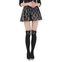calças impressas tatuadas venda por atacado-New Sexy Girl's Meia-calça Projeto Padrão Impresso Tatuagem Meias Cat forma Muitos Estilos Amor Sheer Meia-calça Meias Calças Justas