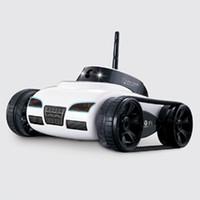 carro remoto wifi venda por atacado-Rc Car Com Câmera 777-270 Wi-fi Controle Remoto Toy Tanque Fpv Camera Suporte Ios Android Ipad Iphone Ipod Controlador Presente Fswb