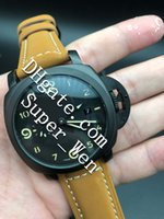 Wholesale Super Digital - Super AAA+ Quality Stainless Steel Wristwatches 1950 3 Day GMT Mens Strap Watch Date PAM00441 PAM441 Automatic mechanical Watch Watches