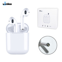 Wholesale wireless earphones online - i9 i9s tws wireless bluetooth headphones ture stereo Earphones wireless headset earbuds with magnetic charger case for smartphone