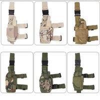 Wholesale water resistant camping bags resale online - Tactical Leg Bag Thigh Molle System Fanny Pack Belt Messenger Waist Belt Hiking Camping Army Water Resistant Bag LJJD21