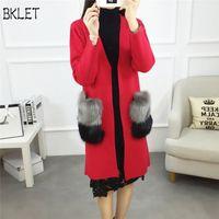 Manteau rouge femme oversize