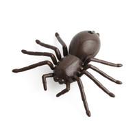 gefälschte spinnen großhandel-Fernbedienung rc toys spinne lustiges spielzeug geschenk für junge rc spinnen fernbedienung mock fake rc spielzeug tier spielzeug