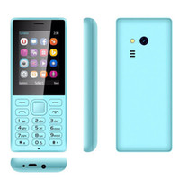 Wholesale old cell phones - 2.4inch screen 216 cell phone 32+32MB Dual sim Dual standby with bluetooth MP3 FM multi language 2G old man mobile phone