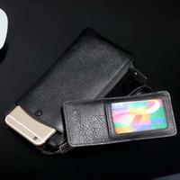 mi sacos venda por atacado-Genuíno Couro de Vaca Alça de Mão Bolsa do telefone Móvel Caso Bolsa Para Xiaomi Mi A1, Mi Nota 3, Mi A1 (5X), Redmi Nota 5A Prime, Mi 5X
