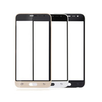 Wholesale cell phone replacement screen - 50PCS Front Outer Touch Screen Glass Replacement for cell phone Samsung Galaxy E5 E7 J3 J5 J7 free DHL