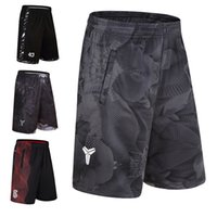 Wholesale compression short soccer online - Men Sport Gym QUICK DRY Workout Compression Board Shorts for Male Basketball Soccer Exercise Running Fitness Yoga