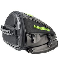 масло для сумок оптовых-Motorcycle Moto Tank Bag Synthetic Leather Helmet Tool Bag Handbag Waterproof Motorbike Riding Oil Fuel Tank Luggage