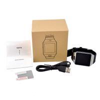 montre chaude téléphone achat en gros de-Vente chaude DZ09 Montre Smart Watch Dz09 Montres Bracelet Android Montre Smart SIM Intelligent Téléphone Mobile État De Sommeil Montre Smart Package Retail