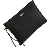 сумка оранжевого цвета оптовых-Fashion Women Clutch Bag for women Lichee pattern PU Leather  handbags bags designer Famous  Ladies bag