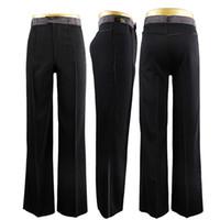pantalon de danse homme achat en gros de-2018 Nouvelle Arrivée Homme / Garçon Danse Latine Pantalon Pantalon Pour Danse Hommes Pantalon De Bal Pour Les Hommes Latin DQ6025 Livraison Gratuite