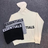 Wholesale uk pullover - US UK AU CA Fashion IN STOCK 2018ss Best Version Fear Of God Essential Collection Logo Printed Women Men Hoodies Sweatshirts Hiphop FOG Men