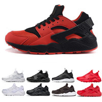 Wholesale black white art for sale for sale - Cheap sneaker Huarache Ultra Running Shoes for Mens women Breathable sneaker Women Huraches black white red Sport Trainer Size online sale
