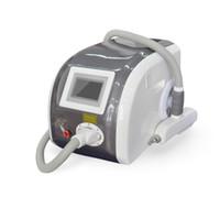 q cambio de venta laser al por mayor-2018 venta caliente 3 cabezas de tratamiento 532nm 1064nm 1320nm Q-switches Nd Yag láser máquina de eliminación de tatuajes