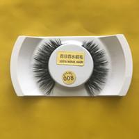Wholesale Super D - new arrival 15 styles 3D mink false eyelashes makeup 100% real mink hair natural thick super comfortable eyelash extension
