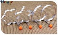 ingrosso anelli a forma di cuore a forma di cuore-2018 Cucina creativa multi-funzionale strumenti in acciaio inox modello omelette uovo in camicia uovo fritto muffa amore uovo anello a forma di cuore jy0066