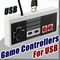 Wholesale nes controllers - Nostalgic handle New Arrive Classic Gaming USB Controller Gamepad Game NES Windows PC C-JYP