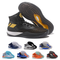 Wholesale competition sports - 2018 D Rose 8.0 Basketball Shoes Caliga Cushioning Wear Resistance Competition CQ1618 Athletics Discount Sneakers Mens Sports Shoes