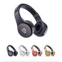 Wholesale gaming wireless card - S55 Wireless Headphones Bluetooth Gaming Headset Stereo Music Support TF Card With Mic Foldable Headband Retail Box