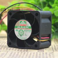 Wholesale magic fan resale online - For Taiwan Yongli MAGIC MGT4024ZB R28 cm V A Cooling Fan