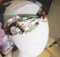 ingrosso capelli elastici della molla-New Creative Letters of 1710 Cross Hair Band Primavera ed estate versione coreana della larghezza di banda elastica femminile della fascia di colore