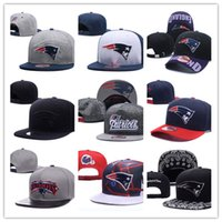 Wholesale england patriots - 2018 New England Fashion Patriots Baseball Cap thounds styles outlet Adjustable Snapbacks Sport Hats Drop Shipping Mix Order