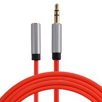 Wholesale rca computers for sale - Male to Female mm Stereo Extension Audio Cable Adapter Jack Cord for Phones Headphones Speakers Tablets PC MP3 Players