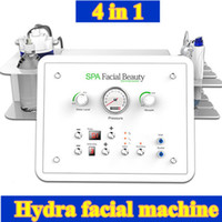 Wholesale Oxygen Beauty Equipment Skin - 4 in1 SPA BIO Lifting RF facial machines skin therapy hydra dermabrasion diamond dermabrasion Oxygen spray skin care beauty equipment