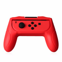 Wholesale game joy online - CKTECH Colors Left Right ABS Hand Grip Stand Support Holder for Nintendo Joy Con Controller Game Hand Grip for Gamepads