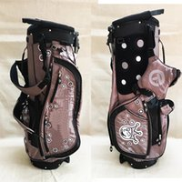 Wholesale pics bags - New Model Light Weight Grey Clown Golf Stand Bag + Free Golf Hat Cap Superior Quality Canvas Material More Pics Contact Seller