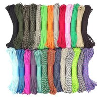 Wholesale umbrella rope - Rope Utility Cord Moisture & Mildew Resistant For Crafts Cargo Tie-Downs Camping Swings Umbrella Rope Support FBA Drop Shipping G490F