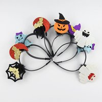 Wholesale Gathers Dress - Halloween decoration party atmosphere dress headband masquerade men and women gather headband 2018 new hot headband wholesale