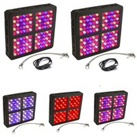 Wholesale uv light systems for sale - Group buy 300w Full Spectrum LED Grow Panel Lamp Sufficient LED Plant Grow Light Best for Hydroponic Systems Flowering Plant Bloom Veg Mode UV IR