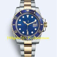 relógio lunar automático de cerâmica venda por atacado-17 Estilo Relógios De Luxo dos homens 40mm 116610 114060 116613 116618 116619 116613LB Cerâmica Bezel Ásia 2813 Movimento Esporte Automático Mens Watch