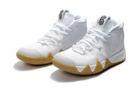 Wholesale Drawing Canvas - Top quality Kyrie 4 Uncle Drew shoes hot sales Kyrie Irving Basketball shoes store free shipping size 40-46