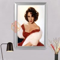 Wholesale Photo Prints Poster - Elizabeth Taylor picture Photo Painted poster print on canvas for home decor poster arts Frame H0317LRS81