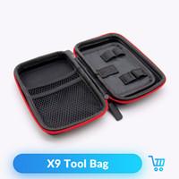 mod x9 venda por atacado-Volcanee bolso vape x9 double deck saco de vapor para o cigarro eletrônico rba rba mod kit diy ferramenta saco de transporte