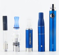 kit mod stylo narguilé achat en gros de-Evod Vaporizer 4 en 1 Starter Kits CE3 Vape Cartouches Kit sec Herb Dab Pen Kit de cire d'huile vapes 510 fil de la batterie super Vape Stylos